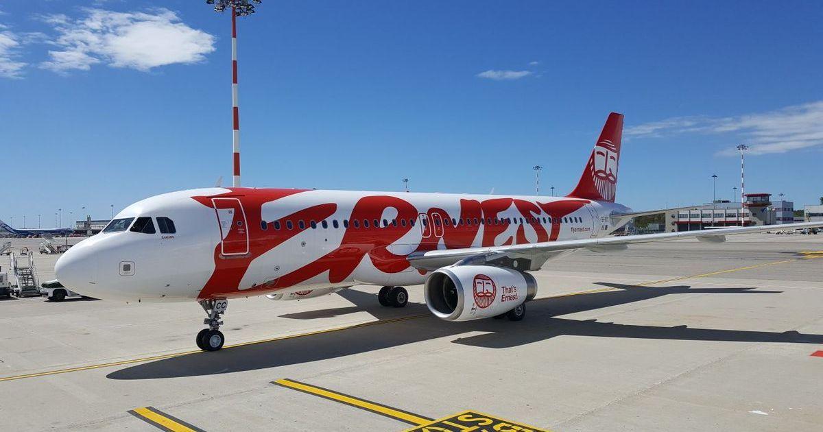Авиакомпания Ernest без объяснений отменила часть рейсов из Львова