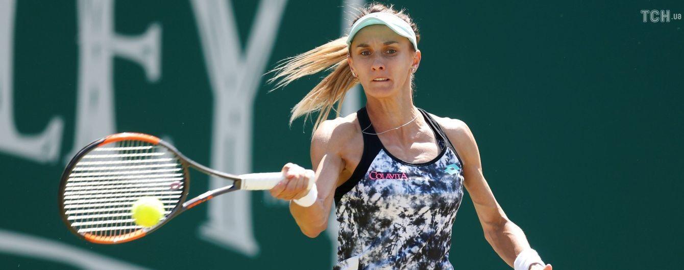 Цуренко уверенно одолела британку и вышла во второй круг престижного турнира Rogers Cup
