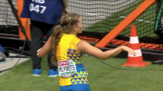 Украинская легкоатлетка отпраздновала выход в финал зажигательным танцем