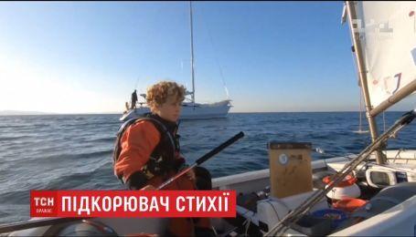 Подросток из Франции одолел Северное море за рекордное время