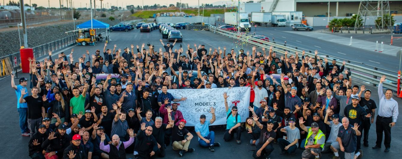 Tesla хвастается результатами производства за второй квартал 2018 года