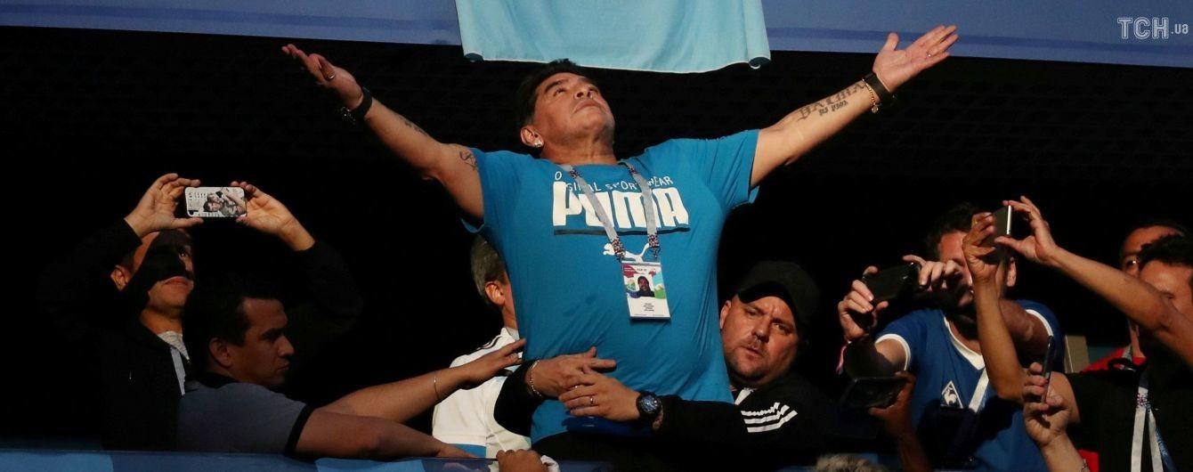 Скандальный Марадона готов бесплатно тренировать сборную Аргентины