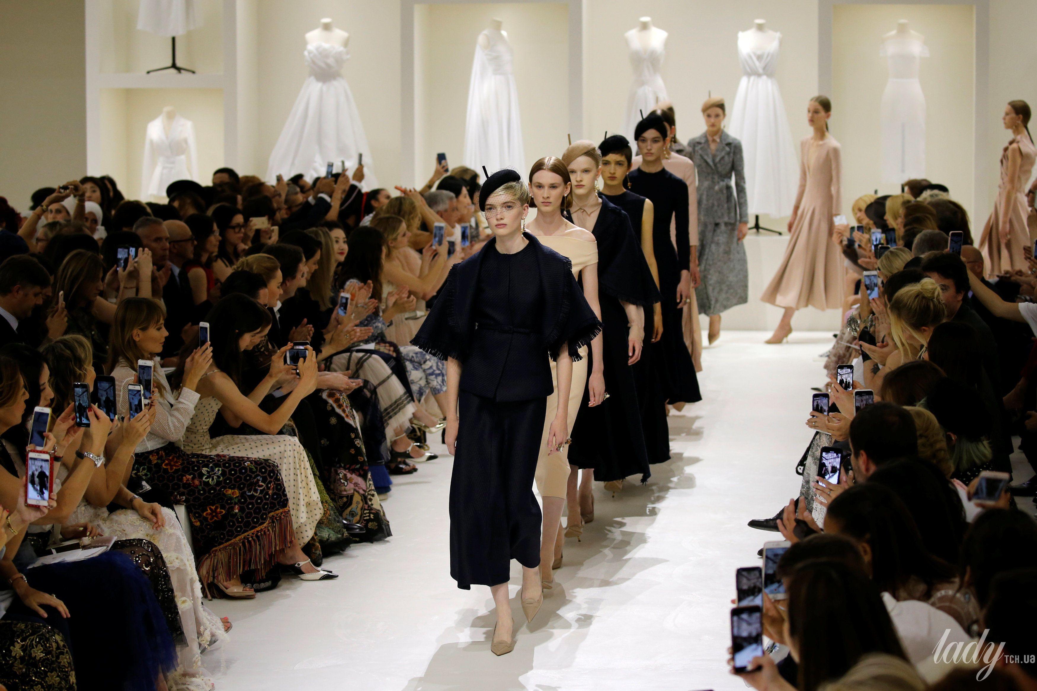 Кутюрный показ Dior_1