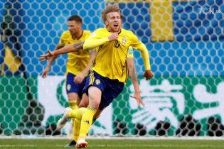 Збірна Швеції перемогла Швейцарію і вийшла у чвертьфінал ЧС-2018