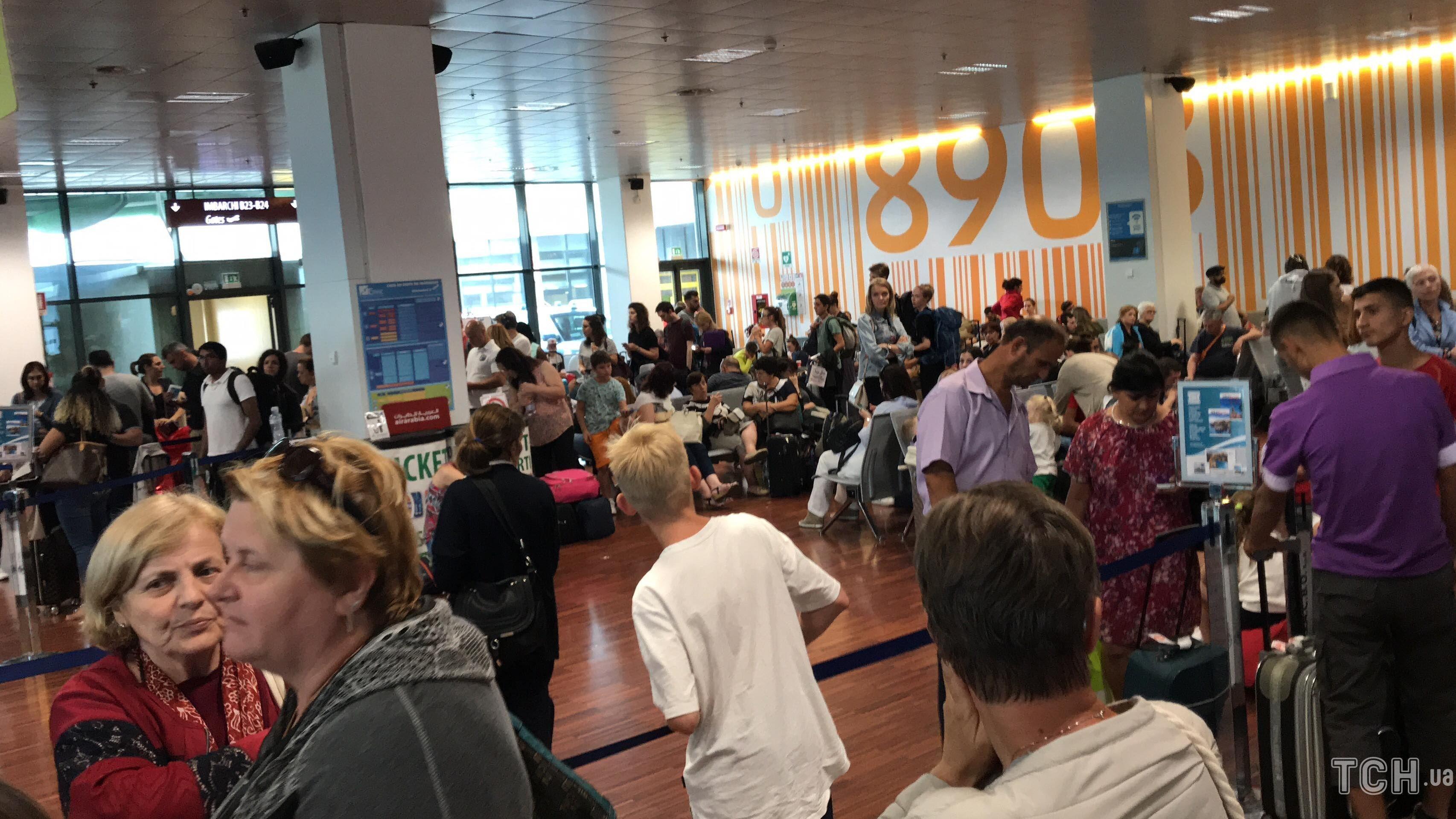 Затримка рейсу, Ernest Airlines, Мілан_1