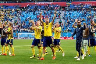 Збірна Швеції вперше за 24 роки вийшла у чвертьфінал Чемпіонату світу