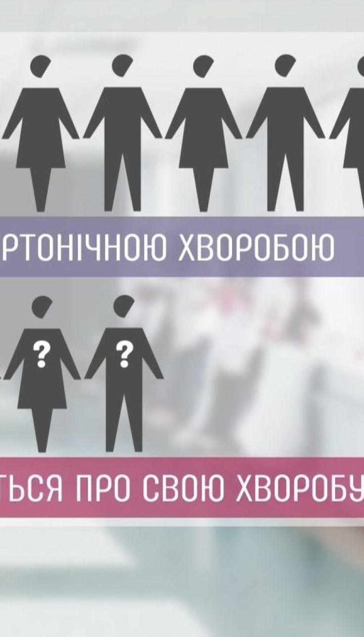 Щороку в Україні зростає кількість хворих на артеріальну гіпертензію