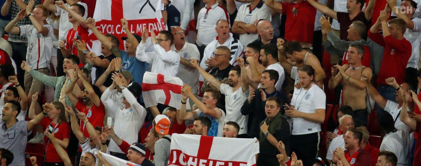 Фанаты сборных Англии и Колумбии устроили драку в метро после матча ЧМ-2018