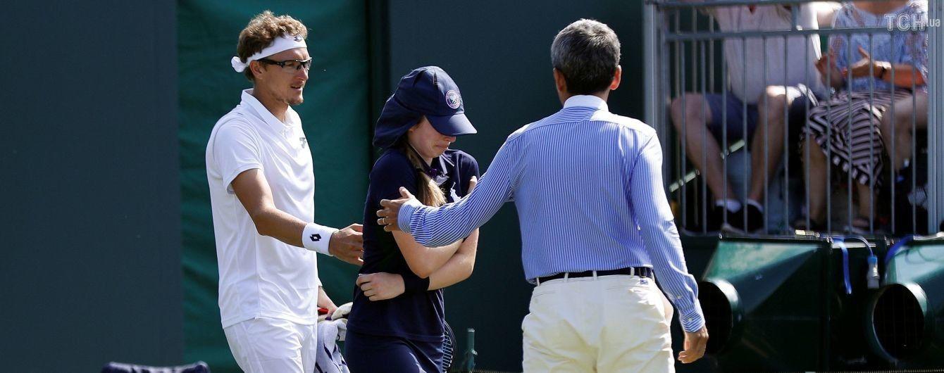 """""""Подумав, що влучив у табло"""": австралійський тенісист шаленою подачею мало не прибив дівчинку"""