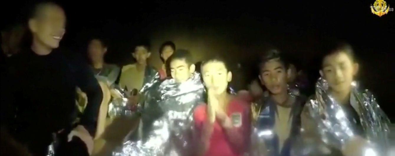 Першу дитину із пастки у печері в Таїланді можуть вивести вже зовсім скоро - ЗМІ