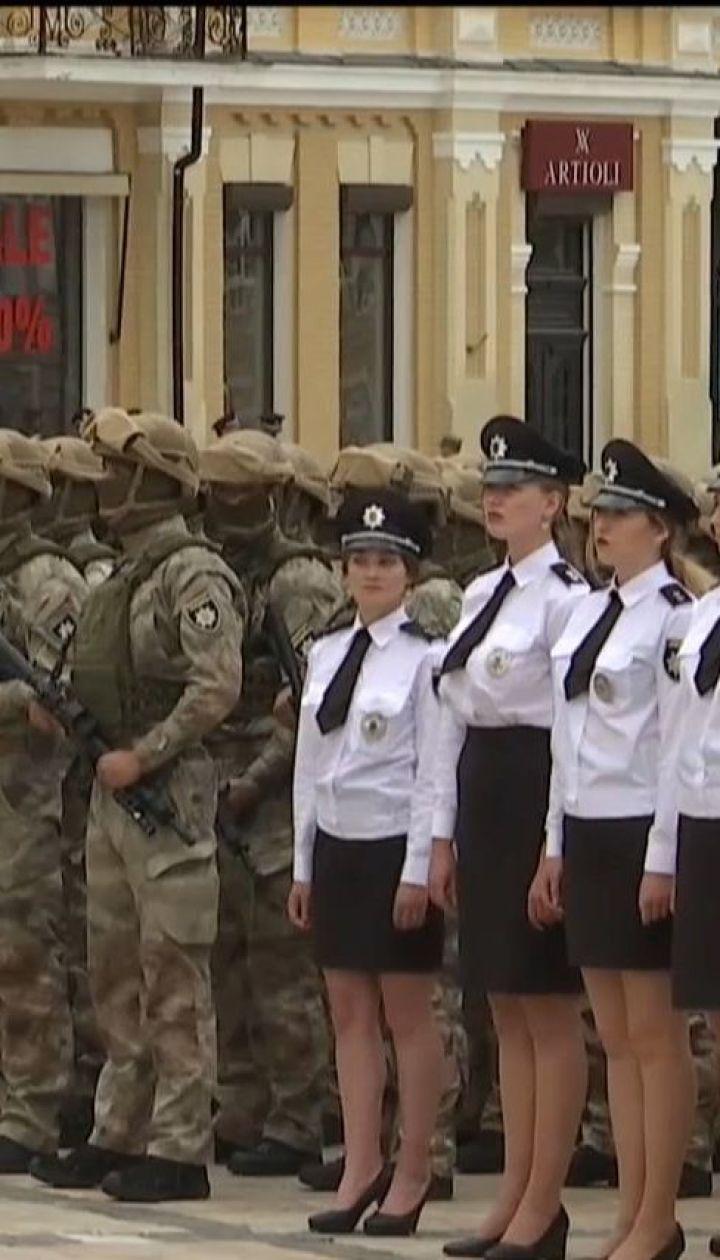 На Софийской площади состоялись торжества по случаю Дня национальной полиции