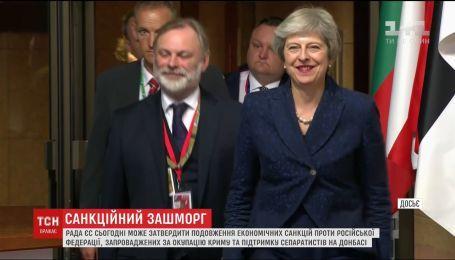 Рада ЄС планує продовження економічних санкцій проти Росії