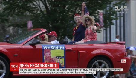Хот-доги, подорожі та феєрверки: США відзначили День незалежності