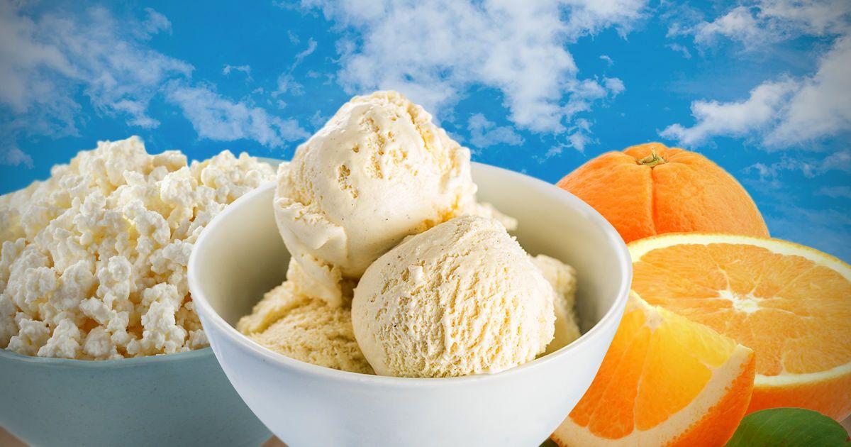 Неймовірне морозиво з домашнього сиру
