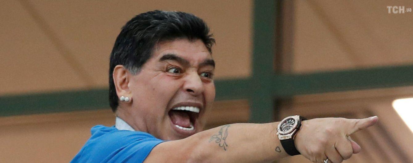 ФИФА наехала на Марадону за критику судейства матча ЧМ-2018