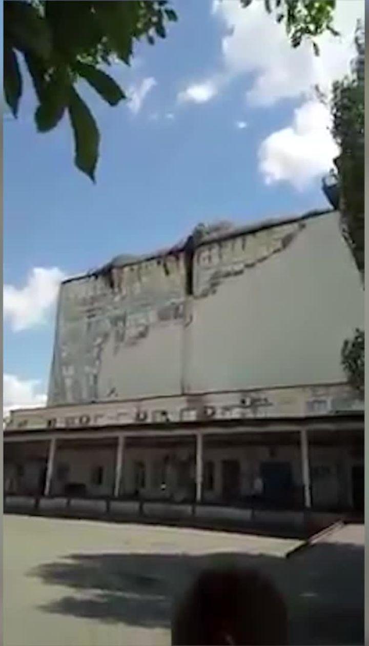 """На комбинате """"Прогресс"""" вспыхнул крупный пожар"""