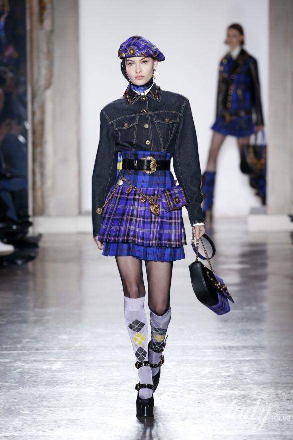 Коллекция Versace прет-а-порте сезона осень-зима 2018-2019_11