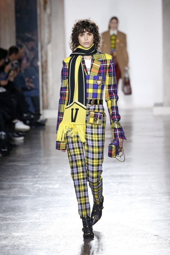 Коллекция Versace прет-а-порте сезона осень-зима 2018-2019_4