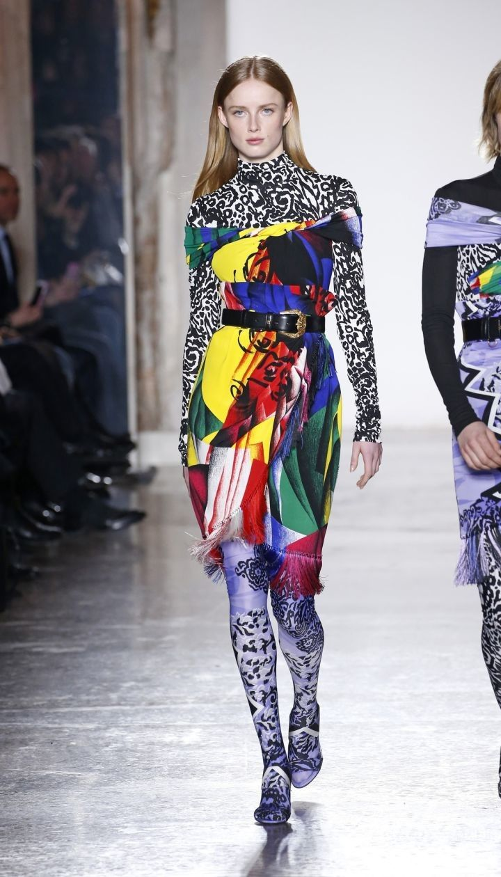 Коллекция Versace прет-а-порте сезона осень-зима 2018-2019