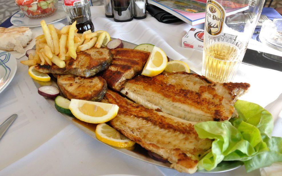 Сербська страва, риба