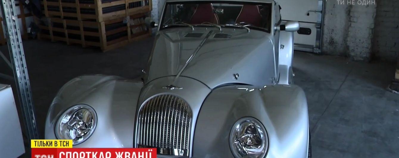 Рідкісний кабріолет Жванії забрали за банківські борги та продають з аукціону