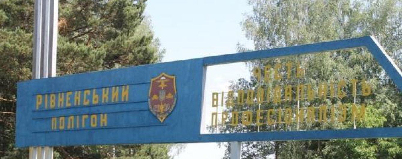 Військовий прокурор назвав дві версії причин трагедії на Рівненському полігоні