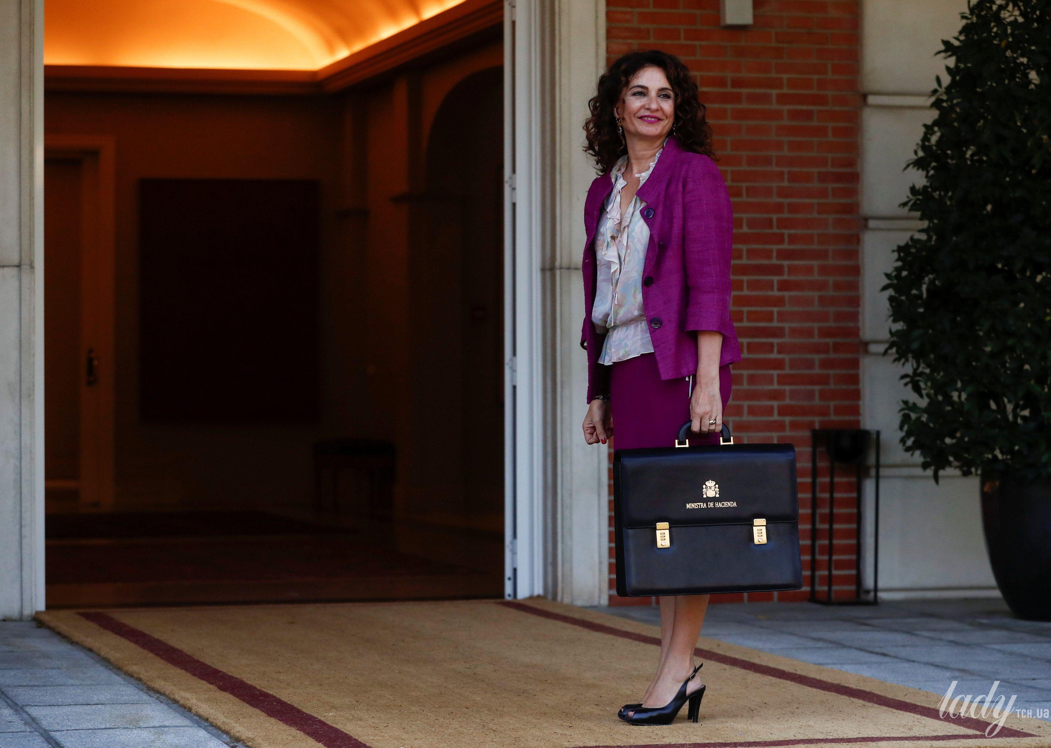 Министр финансов Мария Хесус Монтеро_2