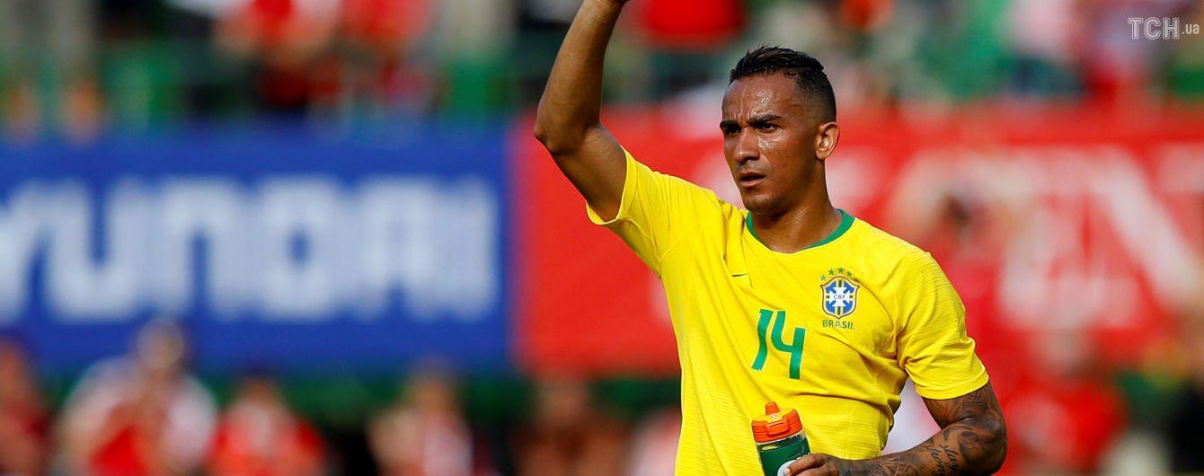 Бразилия потеряла защитника до конца ЧМ-2018