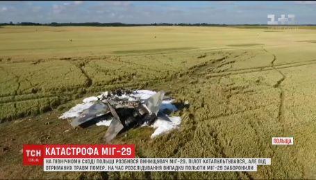 """В Польше разбился """"МиГ-29"""", погиб пилот"""