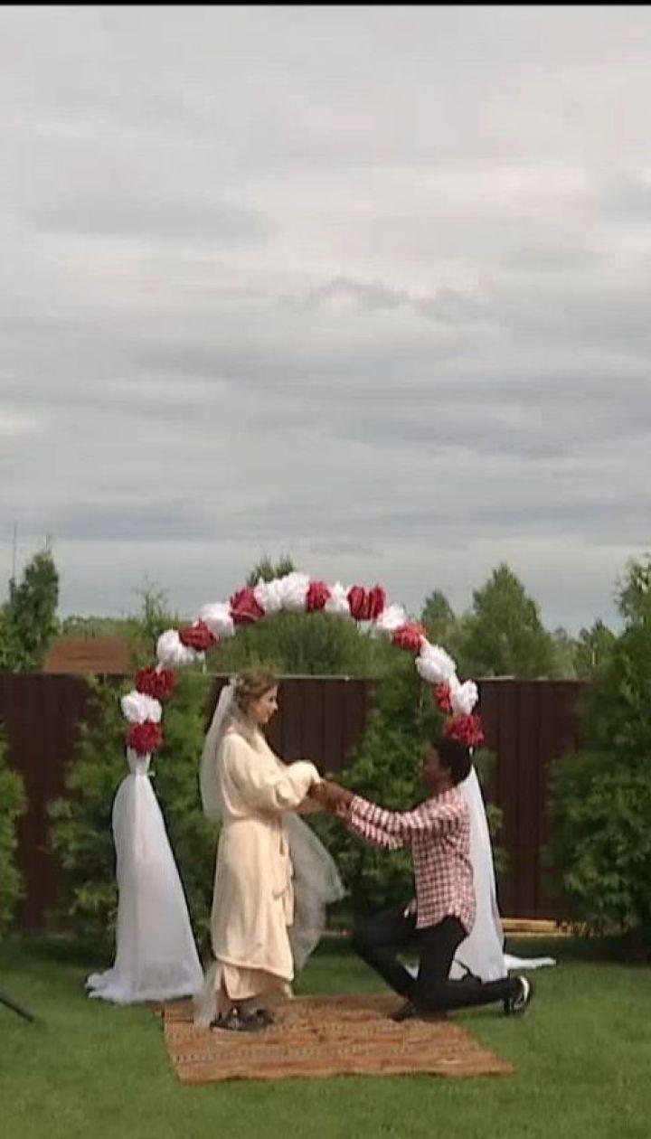"""В Киеве завершились съемки комедии """"Скажене весілля"""""""