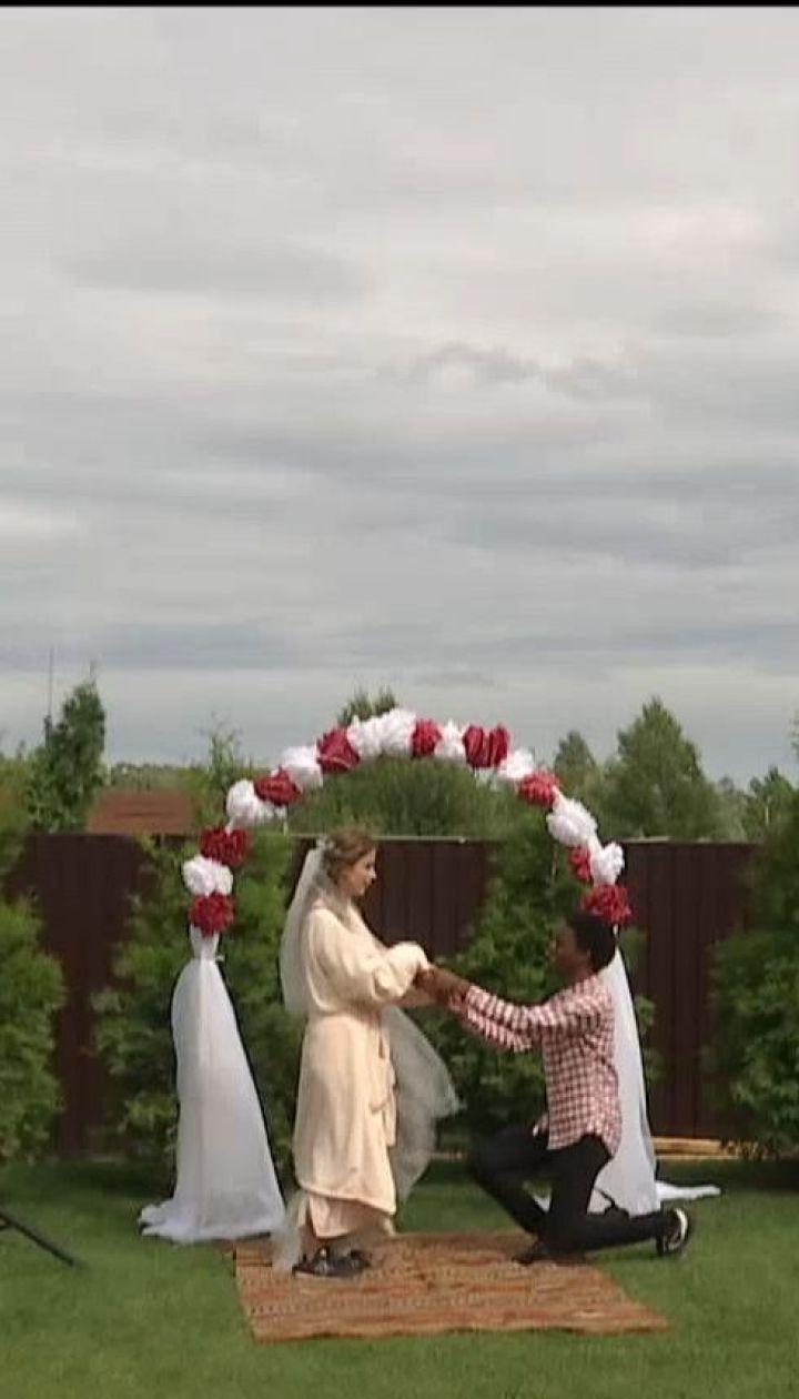 """У Києві завершилися зйомки комедії """"Скажене весілля"""""""