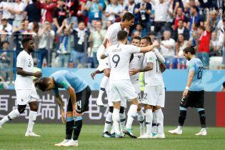 Гол Варана і ляп Муслери. Франція перемогла Уругвай і вийшла у півфінал ЧС-2018