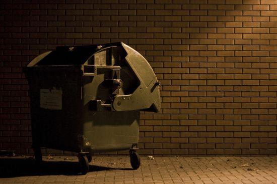 У Запоріжжі в сміттєвому баку знайшли мертве немовля