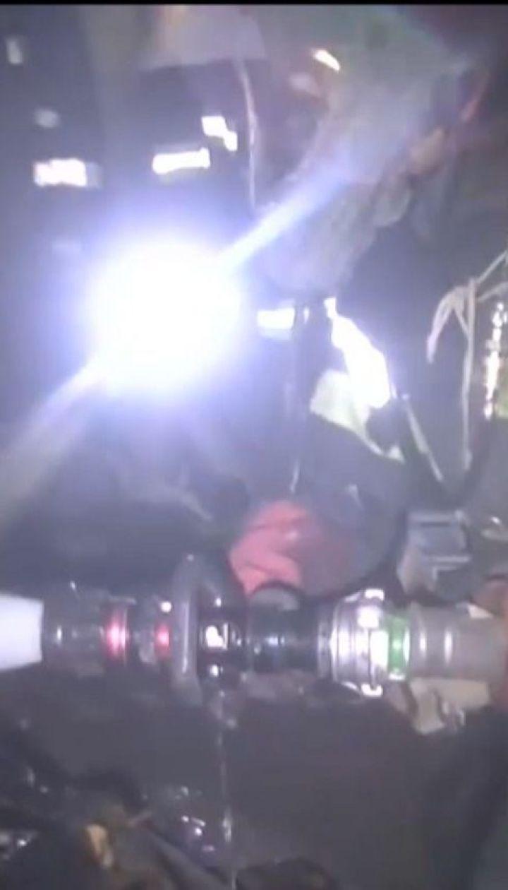 В Харькове из огненной ловушки спасатели вытащили 24 человека