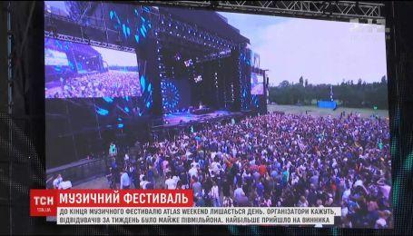 Фестиваль Atlas Weekend за тиждень відвідало півмільйона людей