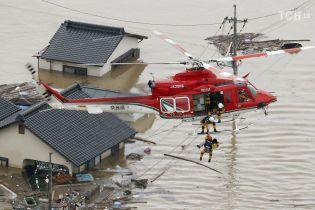 Зливи в Японії: 62 людини загинули, 45 зникли безвісти