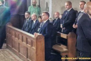 Президент Польщі відвідав Луцьк у роковини Волинської трагедії