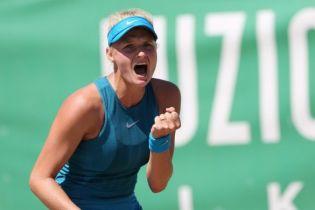 Українка Ястремська пробилася до чвертьфіналу турніру в Гонконзі