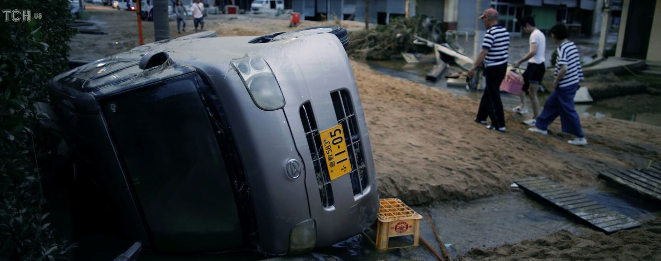 Колличество жертв наводнения в Японии превысило 120 человек