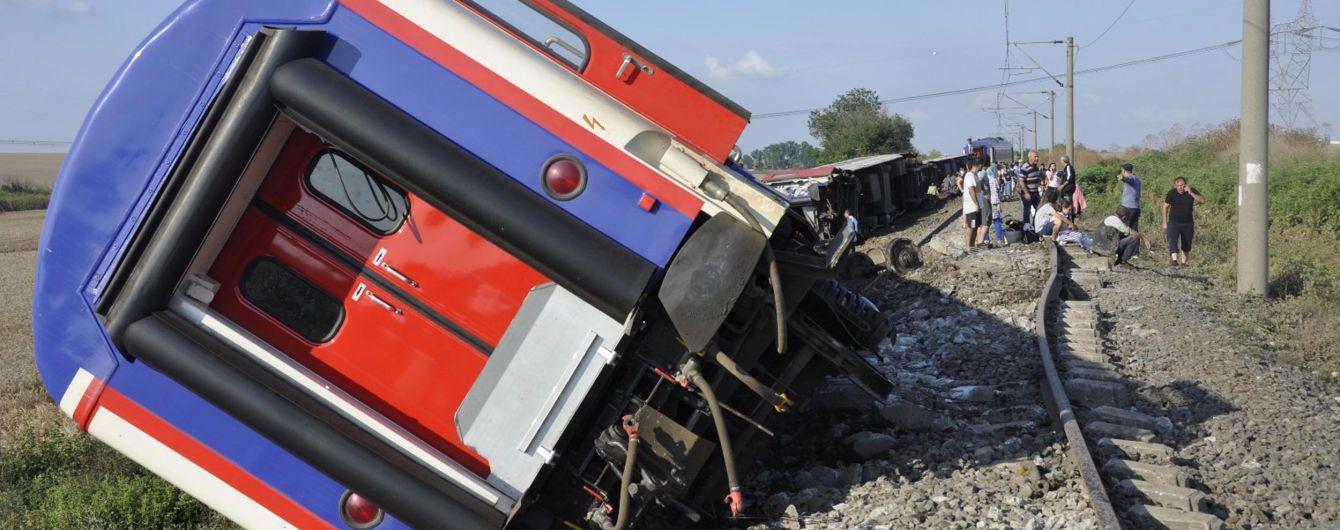 У Туреччині перекинувся поїзд з понад 350 пасажирами. Десятеро загиблих