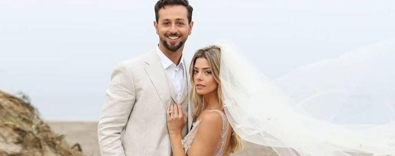 Ешлі Грін вийшла заміж: два весільних образи нареченої