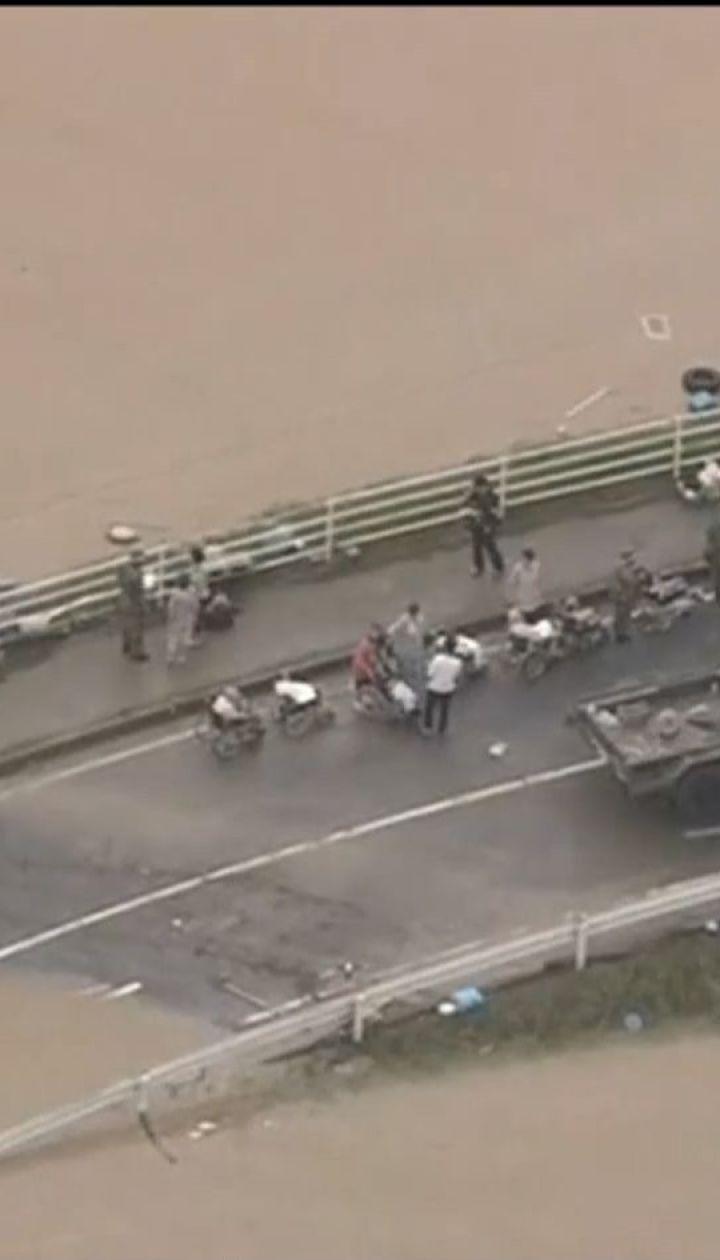 От ливней и наводнений в Японии погибли по меньшей мере 94 человека