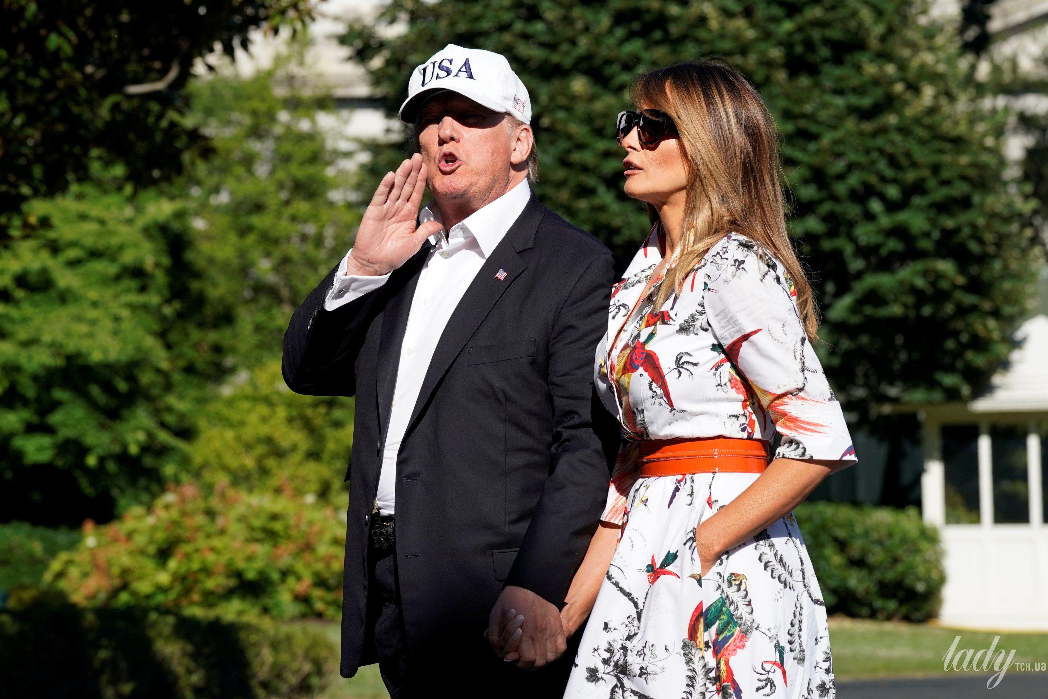 Дональд Трамп и Мелания Трамп_4