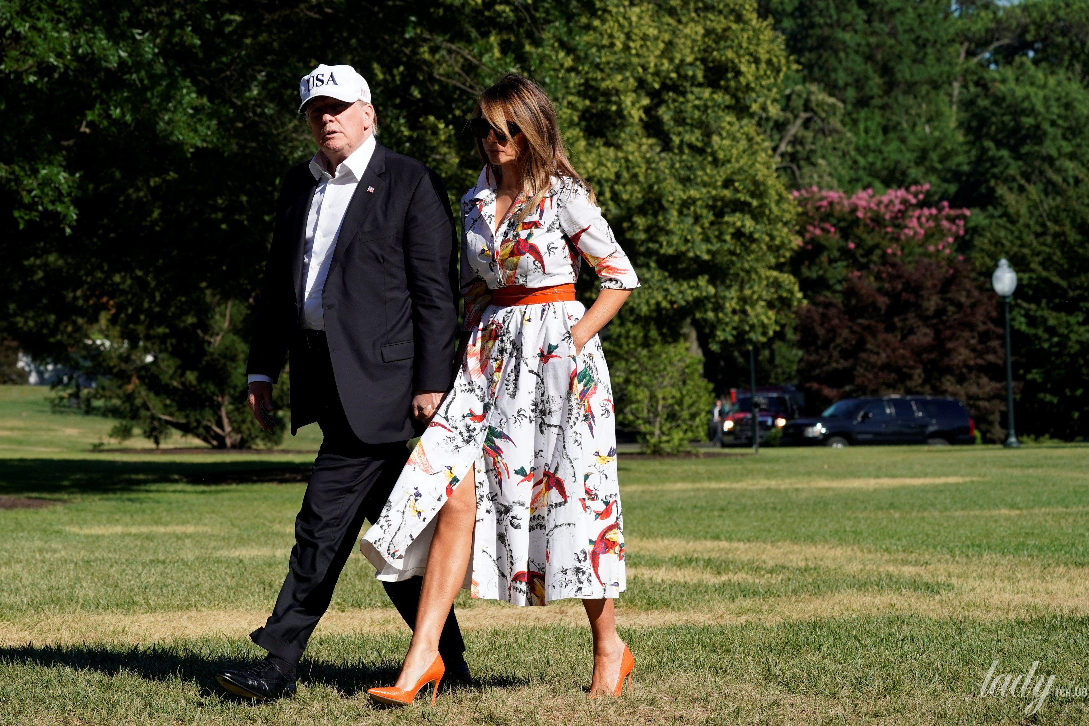 Дональд Трамп и Мелания Трамп_8