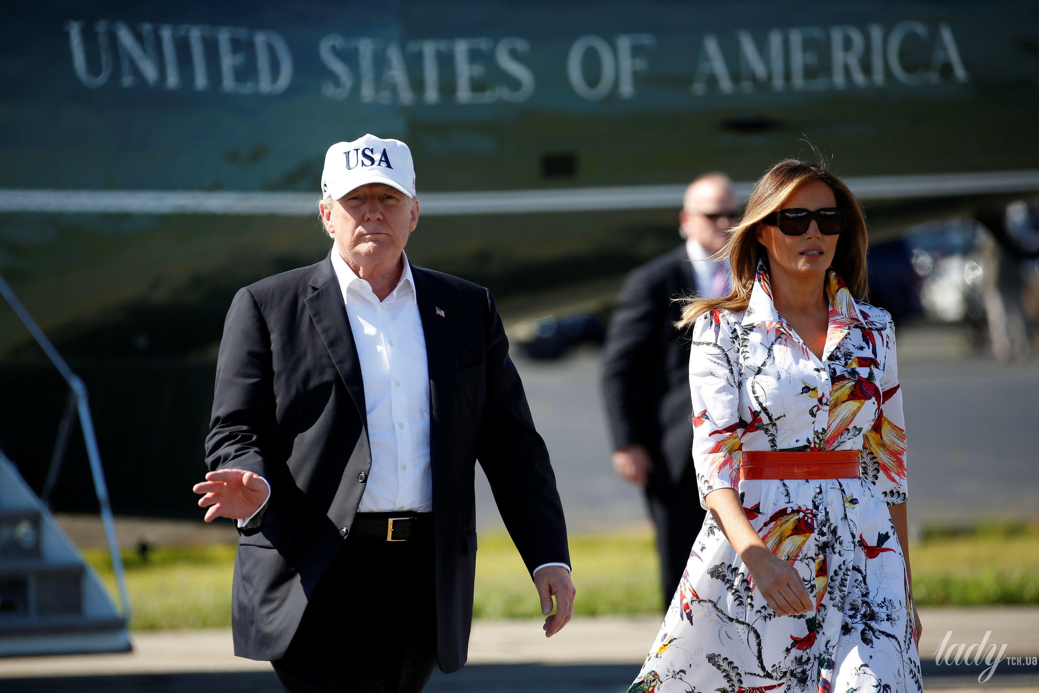 Дональд Трамп и Мелания Трамп_3
