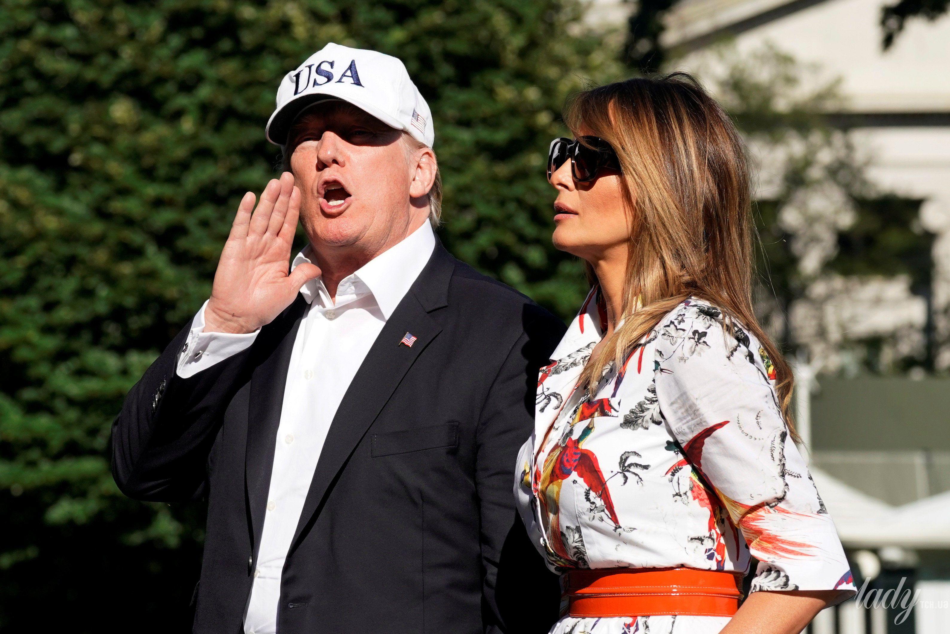 Дональд Трамп и Мелания Трамп_6