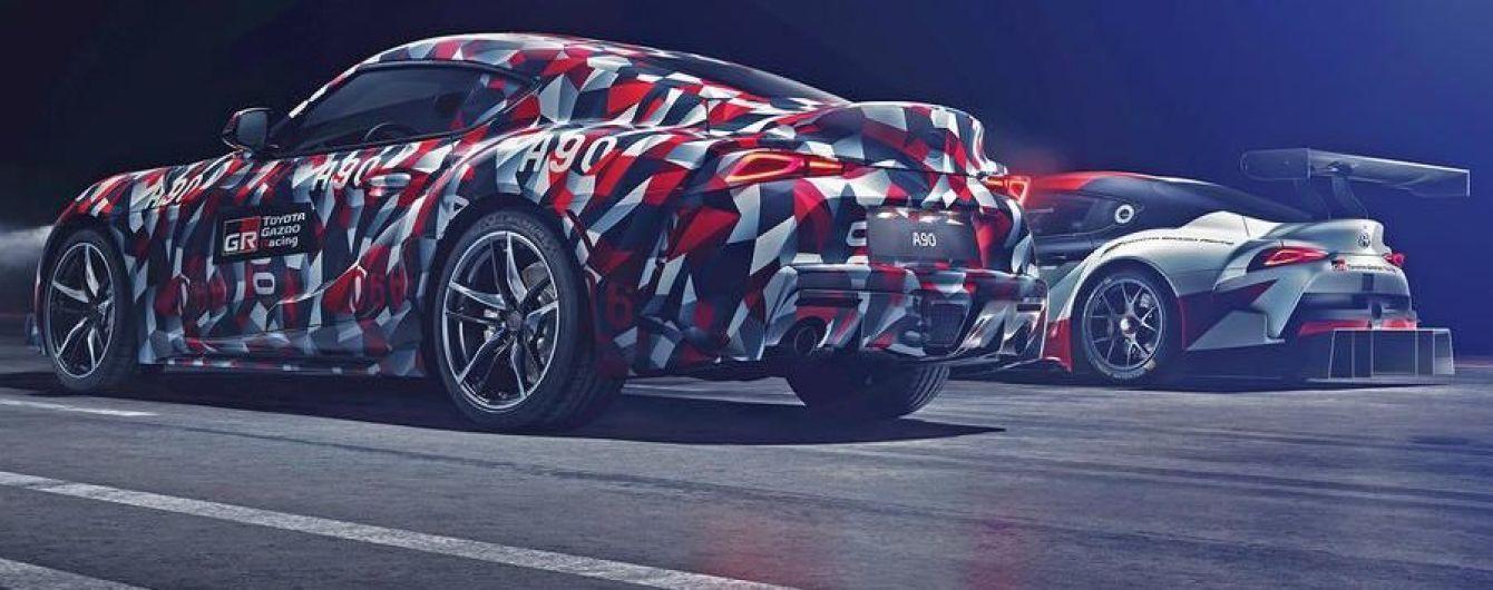 Toyota привезет свой новый спорткар на фестиваль скорости