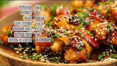 Острые куриные крылышки - рецепты Сеничкина