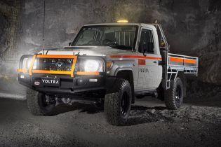 Австралійці перетворили позашляховик Land Cruiser у шахтарський електромобіль
