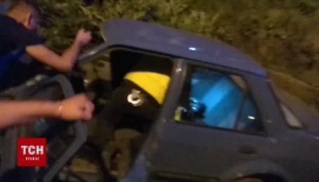 На Івано-Франківщині сталася ДТП за участю автівки лейтенанта поліції, є постраждалі